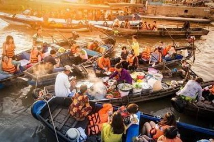 Mekong River Floating Markets