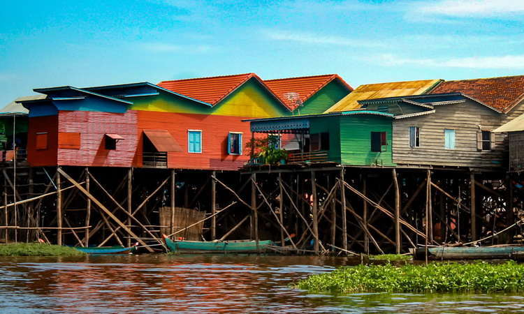 Tonle Sap Lake Villages Siem Reap