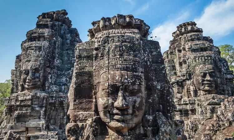 About the Angkor Thom in Cambodia