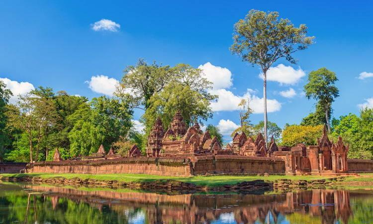 Banteay Srei Tours and Travel Siem Reap in Cambodia