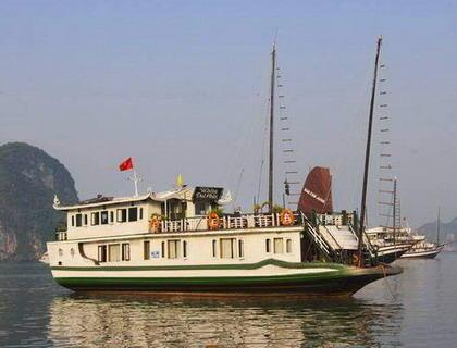 Petit White Dolphin Halong Cruise - THE LOST CIVILIZATION