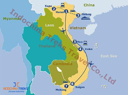 Grand Vietnam Tour Itinerary