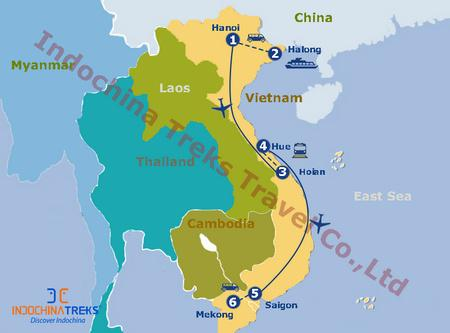 Vietnam at a Glance Tour Photos